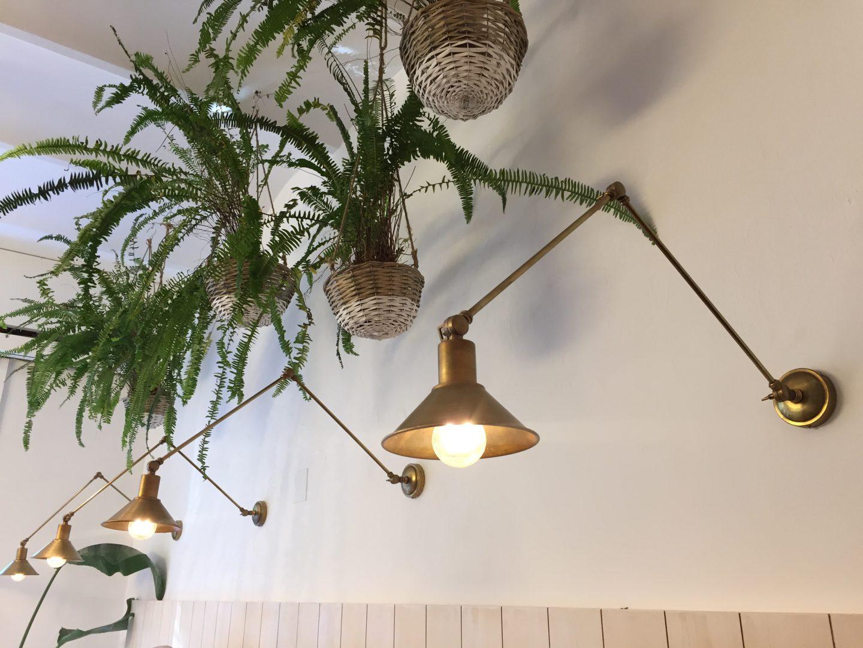 iluminacion vintage para un restaurante