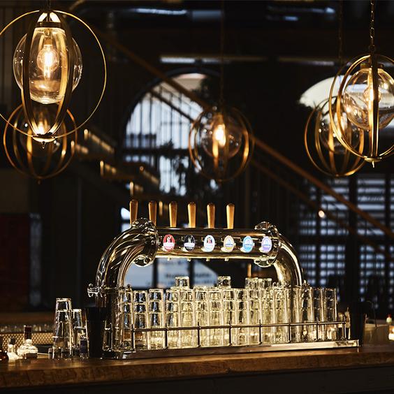 lamparas vintage bolas de cristal