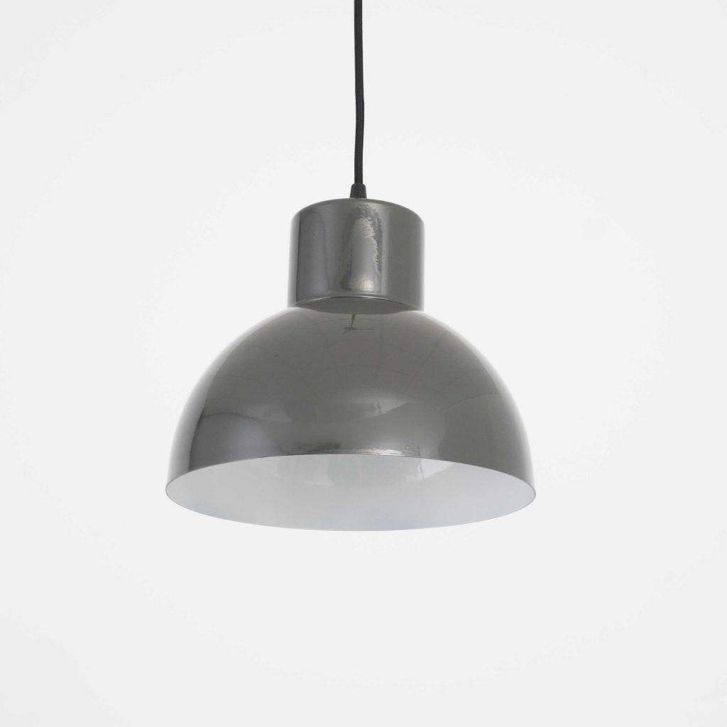lampara vintage color gris oscuro