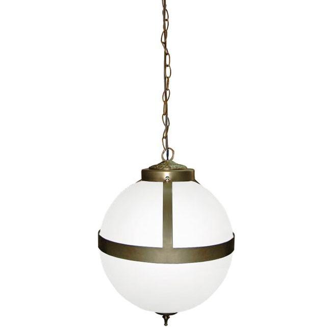 lampara vintage bola de cristal