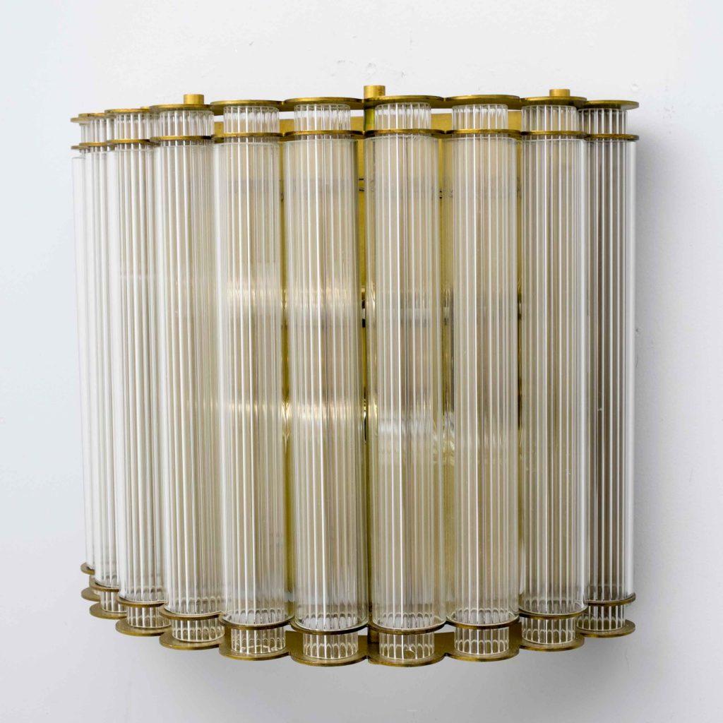aplique de pared vintage varillas de cristal
