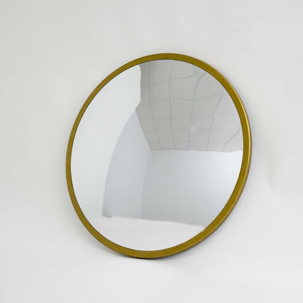 Espejo de pared vintage marco dorado