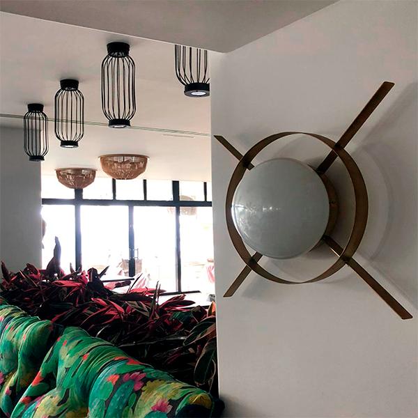 hotel los fariones diseño de lamparas de luz vintage